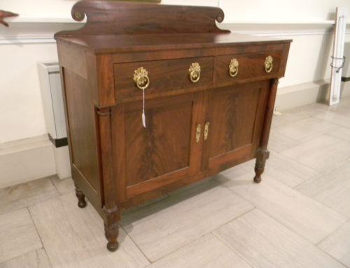 "Classical Mahogany Sideboard,Virginia Circa 1820,56""w-53""t."