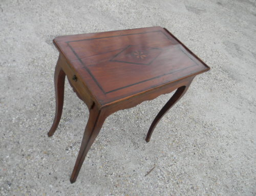 Inlaid 19th century French Table