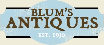 Blum's Antiques Logo