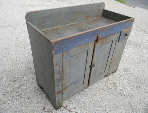"Dry Sink, Original Paint,42""w- 35""t"