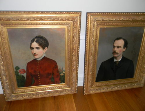"Portraits by S Dubois of Philadelphians ""Fretz Family"""