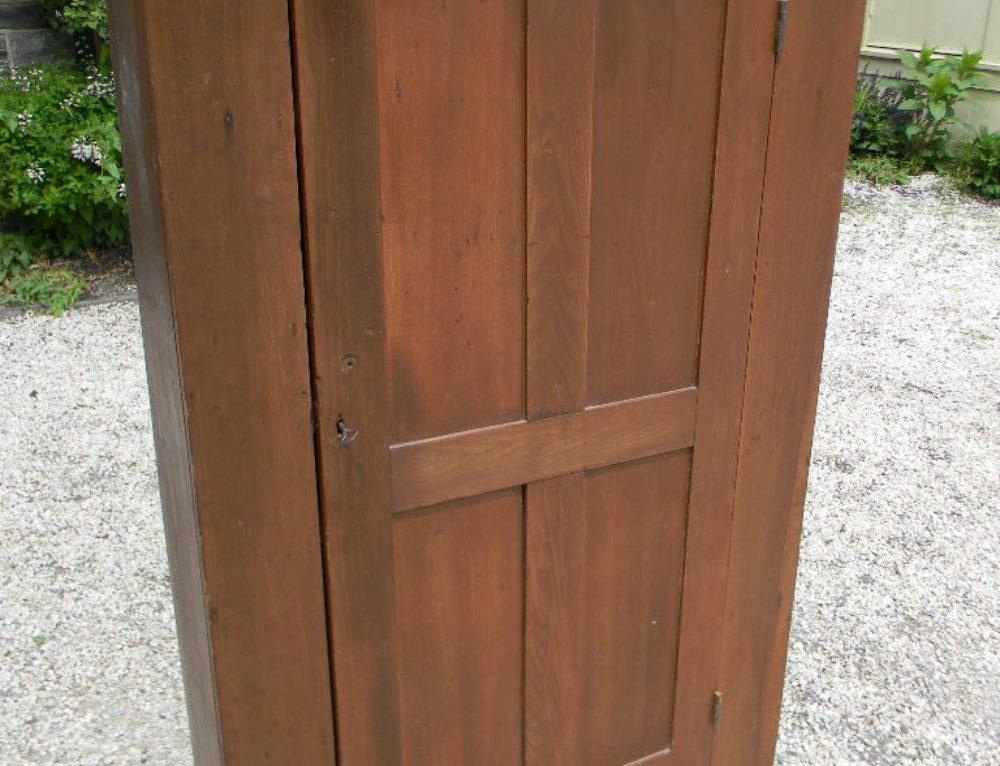 """1 Door Cupboard 19th century ,60""""t-37""""w"""