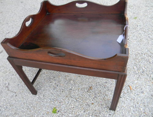 Mahogany Tray Top Table