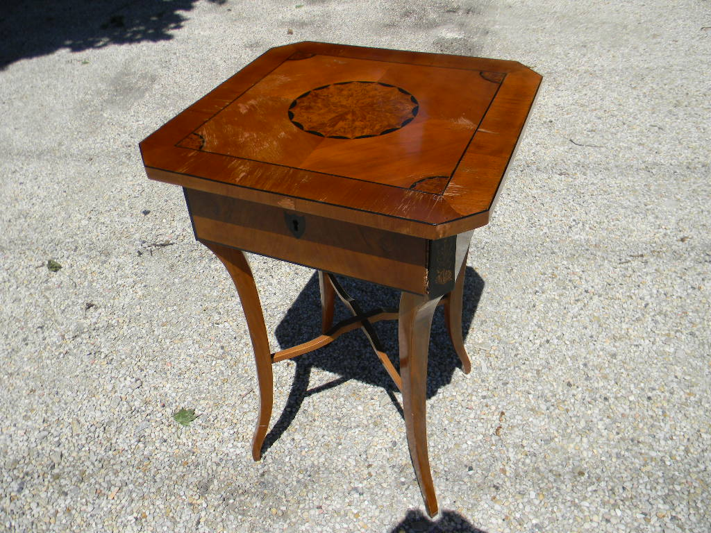 Biedermaier maple side table 19th century blum s antiques for Table th onclick