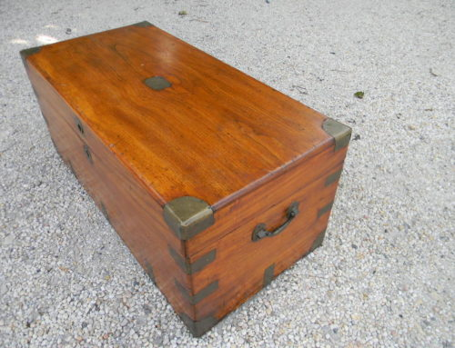 "Camphor Wood Chest 34""w-15.5""t -17""d"