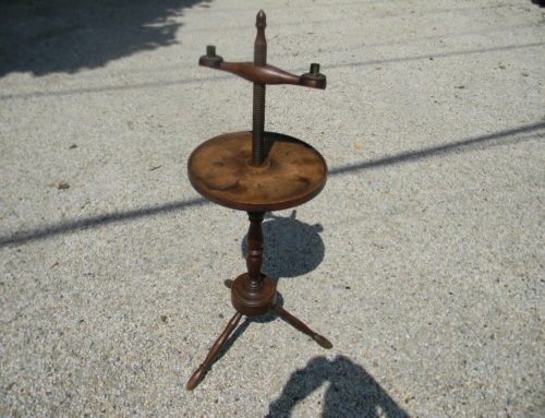 Adjustable Twist Candlestand American 19th century