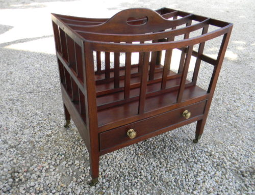 Mahogany Catebury English Circa 1815
