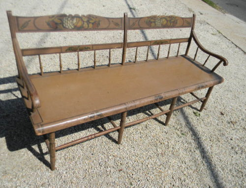 "PA. Sette Circa 1820, Original Decoration70""x22""x33""t."