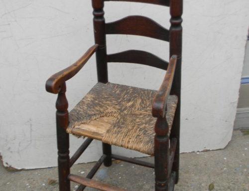 High Chair New England Circa 1720