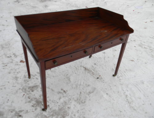 Mahogany Gallery Top Server or Desk,Circa 1800 England