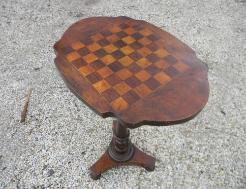 Inlaid Gameboard Table Circa 1840-60