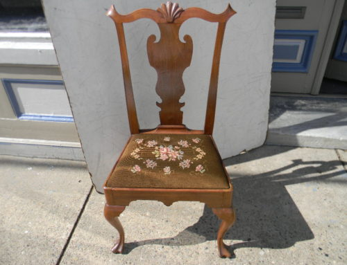 Queen Anne PA. Side Chair