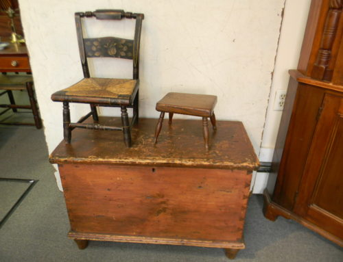 Childs Hitchcock Chair