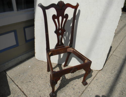 Chippendale Phila. 4Shell side chair,Circa1770