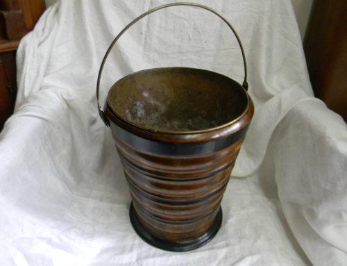 Treen Ware Bucket with Liner