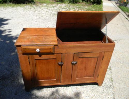 """Pine Dry Sink 49""""w"""