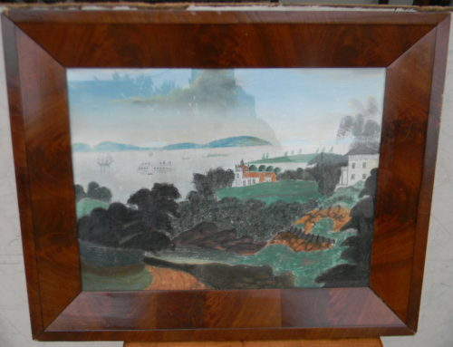 Water Color Painting of Hudson River Valley 23.5x 18.5