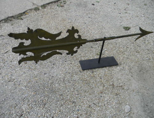 "Weathervane Arrow Bannerette 48""w"