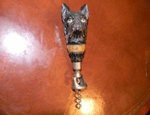 Cork Screw with Dog Head