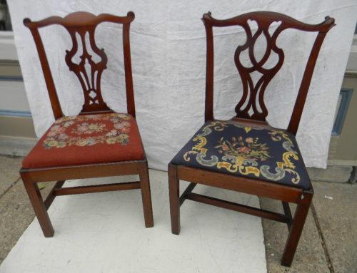 2 Philadelphia Circa 1790 Chairs