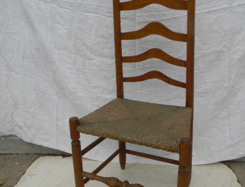 Circa 1770 Pennsylvania Ladderback Chair
