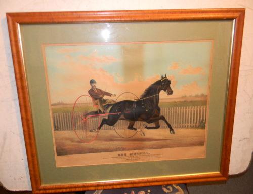 Horse Print of Bem Morrill