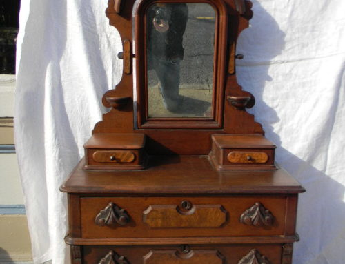 "Victorian Walnut Childs Chest, Phila. Ca.1870,47""tall"