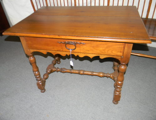 Fruit Wood Ca. 1730s Side Table