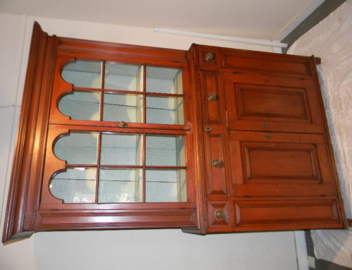 "Hackensack Cupboard in the Old Surface 48""w-79""t"
