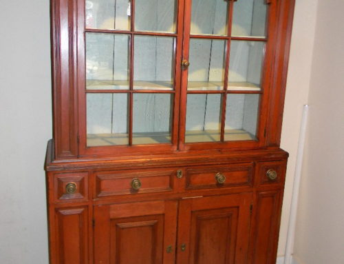 """Hackensack Cupboard in the Old Surface 48""""w-79""""t"""