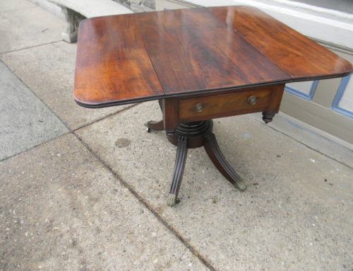 Mahogany Breakfast Table,Phila. Circa 1820