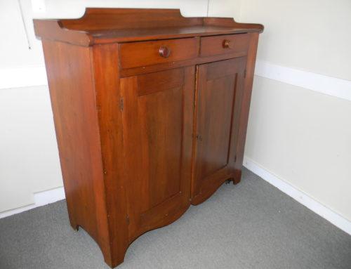 "Pensylvania Cupboard, 49""w Circa 1830"
