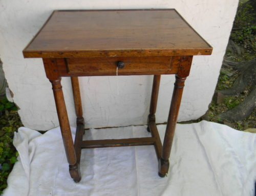 Fruit Wood French Side Table Circa 1790