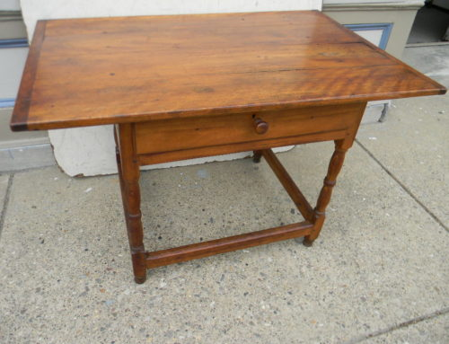 Maple Tavern Table New England Circa 1780