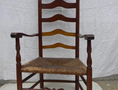 Pensylvania Ladderback,Circa 1760