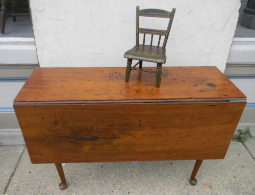 Cherry Queen Anne Drop Leaf, Circa 1740. $650.