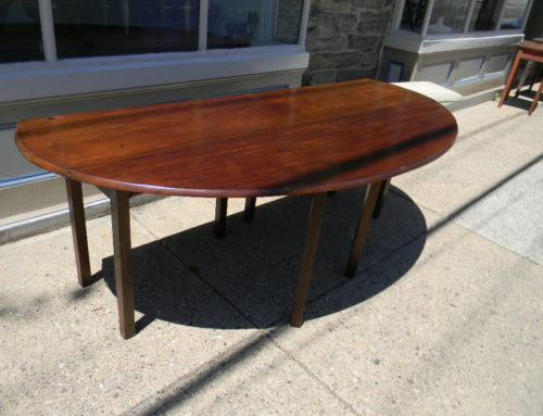 "Irish Wake Table 19th Century 80""w"
