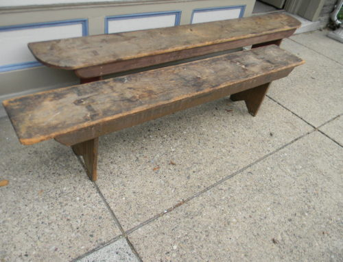 "Bench Orig. Paint 77""w"