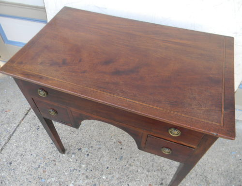 "English Side Table Circa 1800,32""w-30""t"