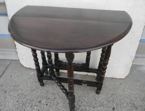 "Gate Leg Table ,Oak English Ca.1725,29""w"