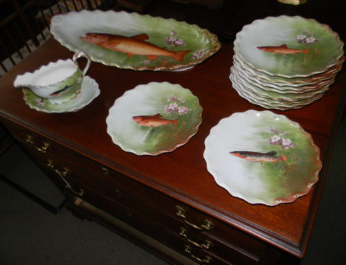 Limoge Fish Set 12 plates