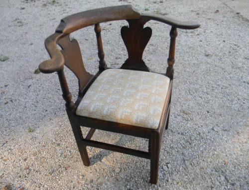 Mahogany Corner Chair,Circa 1780
