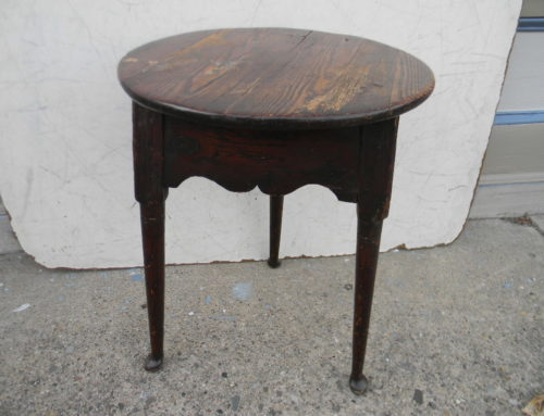 "Queen Anne Pine Ca,1740,24""t17""w"