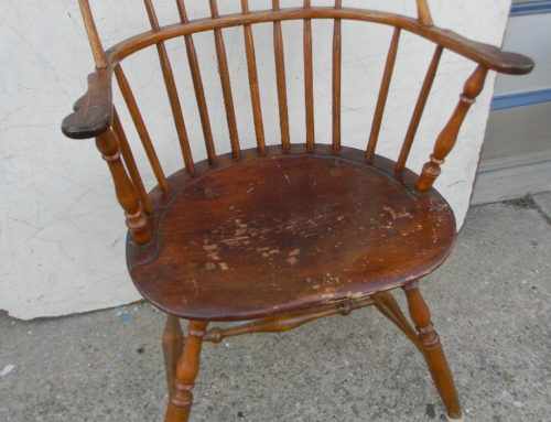 Sackback Windsor Chair PA.,Circa 1780