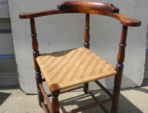 New England Corner Chair Circa  1740-50