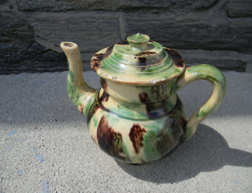 Whieldon Tea Pot