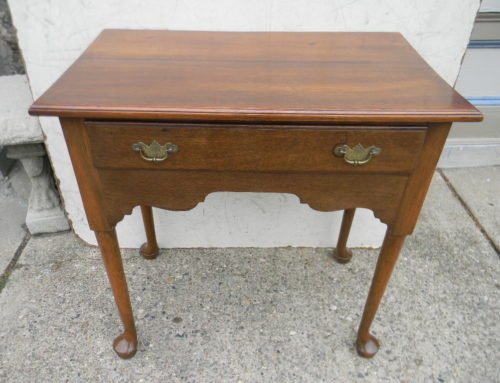 "English Oak Lowboy,Ca.1750,30""t-29""w$750"