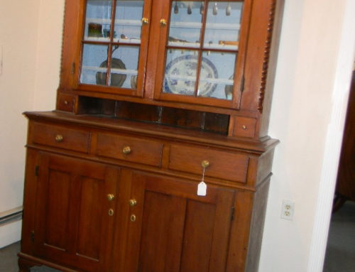 "Walnut Stepback Cupboard,PA.Circa 1800,57""w-86""t"