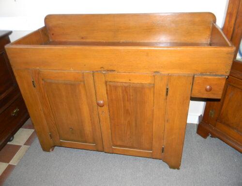 """Pine Dry Sink,49""""w"""