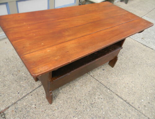 "Bench Table.Circa 1840s ,60""x29"""